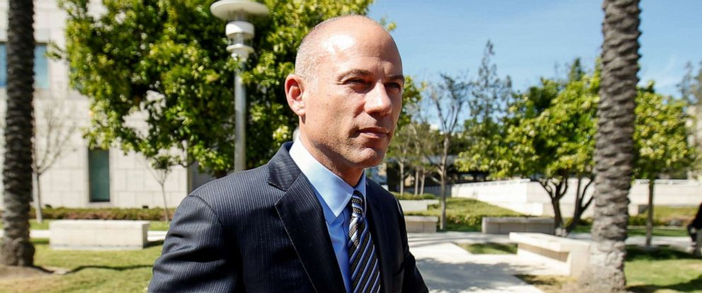 PHOTO: In this April 1, 2019 file photo Attorney Michael Avenatti leaves court after making an initial appearance on charges of bank and wire fraud at federal court in Santa Ana, Calif.