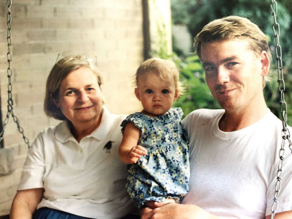 PHOTO: Sen. Michael Bennet (right) with daughter Caroline and Mom Susanne in an undated photo.
