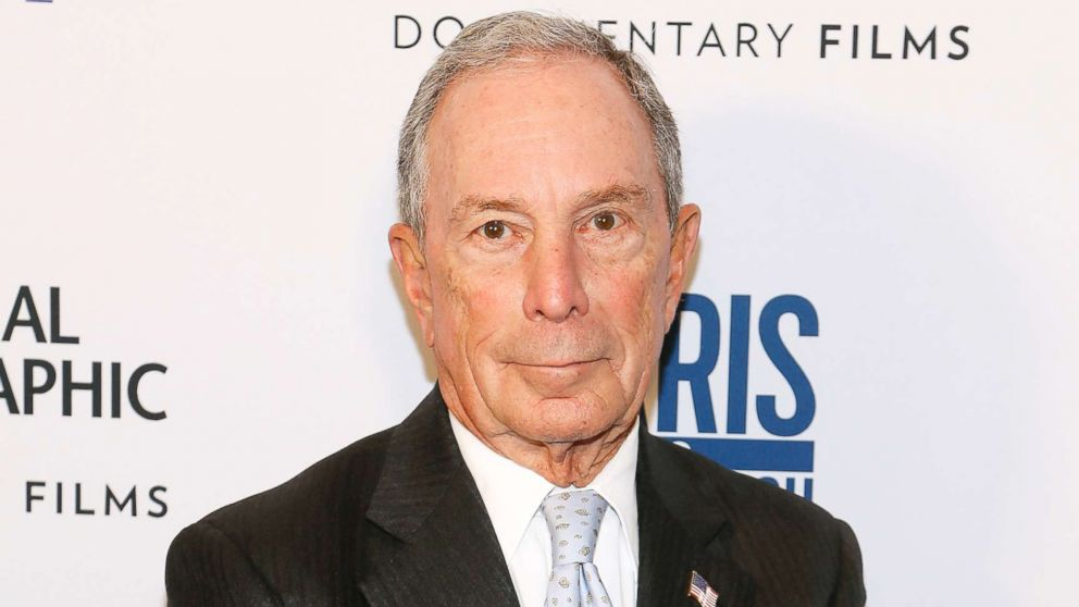 "Michael Bloomberg attends the ""Paris to Pittsburgh"" film screening hosted by Bloomberg Philanthropies and National Geographic at National Geographic Headquarters, Feb. 13, 2019 in Washington, DC."