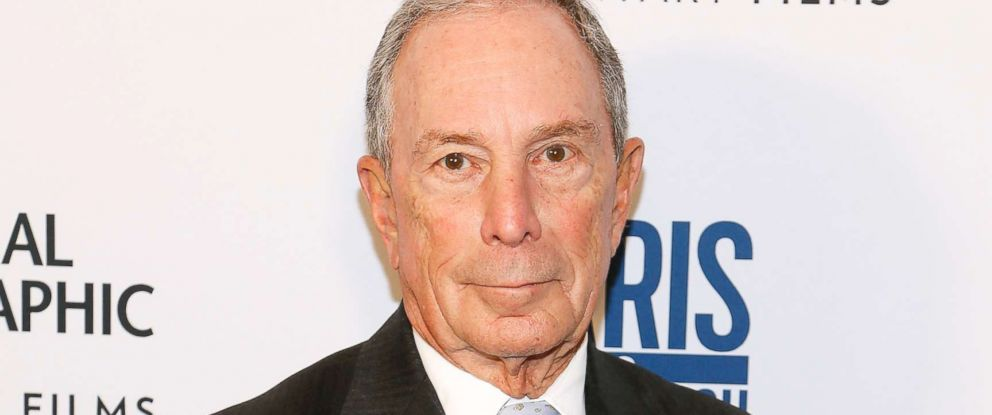 "PHOTO: Michael Bloomberg attends the ""Paris to Pittsburgh"" film screening hosted by Bloomberg Philanthropies and National Geographic at National Geographic Headquarters, Feb. 13, 2019 in Washington, DC."