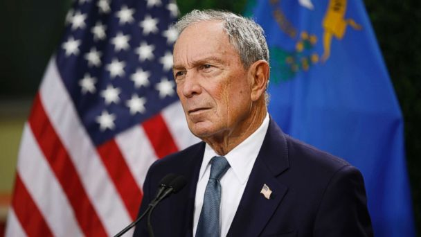 The Note: Michael Bloomberg out of the running, but not the race