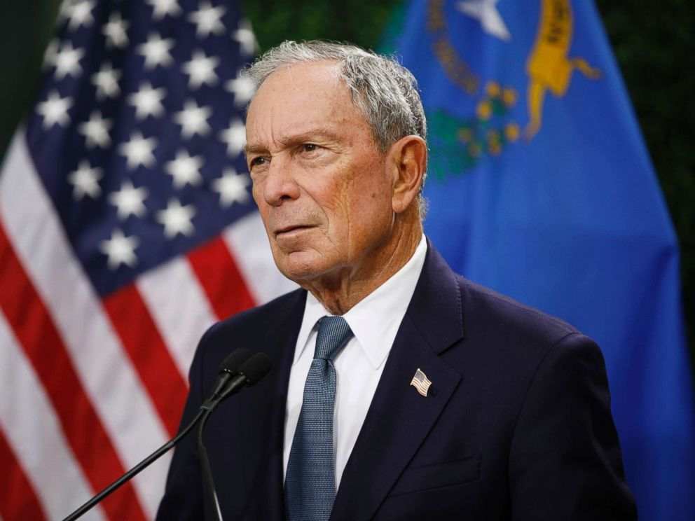 Trump says Bloomberg wouldn't do well in 2020