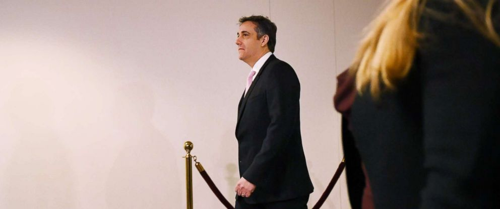 PHOTO: Michael Cohen, President Donald Trumps former personal attorney, arrives at the Hart Senate Office Building in Washington, Feb. 26, 2019.