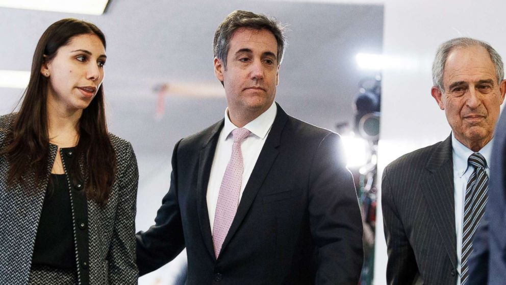 Michael Cohen on Capitol Hill for dramatic testimony about President Trump thumbnail