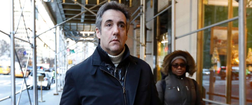 PHOTO: Michael Cohen, former lawyer to President Donald Trump, leaves his apartment building on New Yorks Park Avenue, Friday, Dec. 7, 2018.