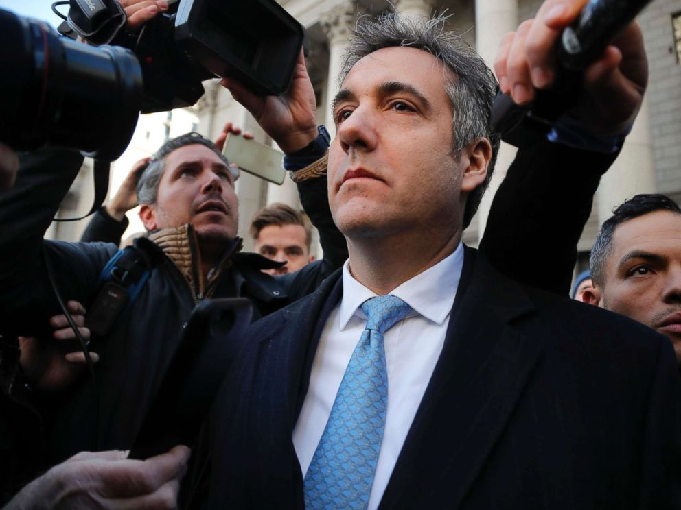 PHOTO: Michael Cohen walks out of federal court in New York, Nov. 29, 2018.