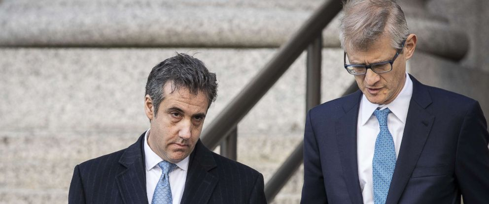 PHOTO: Michael Cohen, former personal attorney to President Donald Trump, exits federal court, Nov. 29, 2018, in N.Y.