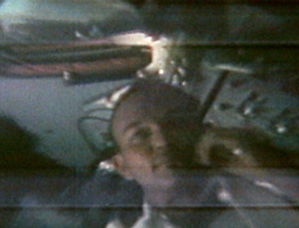 PHOTO: Apollo 11 Command Module Pilot Michael Collins reflects on historic Apollo 11 mission.