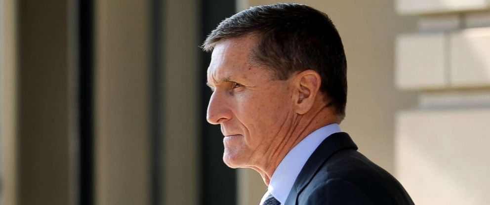PHOTO: Michael Flynn, former national security adviser to President Donald Trump, leaves following his plea hearing at the Prettyman Federal Courthouse Dec. 1, 2017 in Washington.