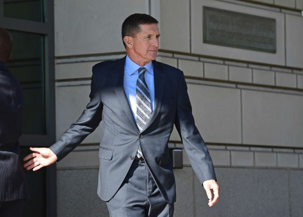 PHOTO: Former Trump national security adviser Michael Flynn leaves federal court in Washington, Dec. 1, 2017.