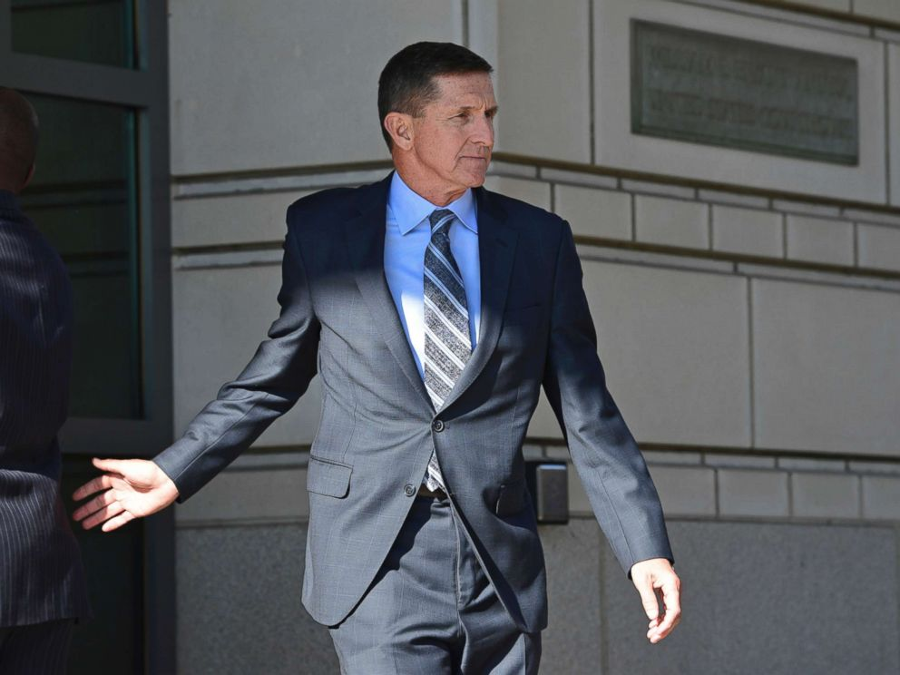 Former Trump national security adviser Michael Flynn leaves federal court in Washington in December. Recently released memos written by James Comey revealed that Donald Trump thought Flynn had serious judgement issues.
