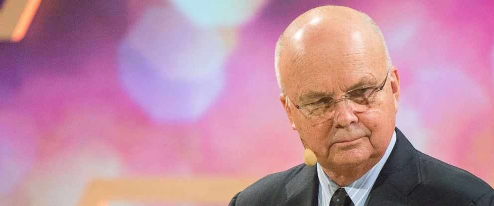 PHOTO: Michael Hayden, former Director of the CIA and NSA, speaks at a Nobel Week Dialogue: the Future of Truth conference at at Svenska Massan on Dec. 9, 2017, in Gothenburg, Sweden.