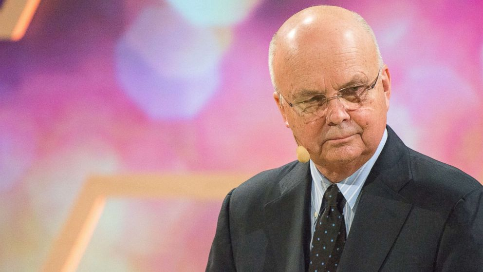 Michael Hayden, former Director of the CIA and NSA, speaks at a Nobel Week Dialogue: the Future of Truth conference at at Svenska Massan on Dec. 9, 2017, in Gothenburg, Sweden.