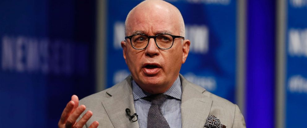 PHOTO: Michael Wolff of The Hollywood Reporter speaks at the Newseum in Washington, April 12, 2017.