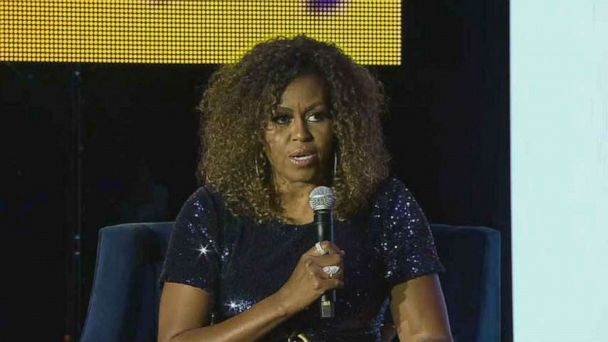 Michelle Obama won't comment on Biden apology, holds off on endorsement at Essence Festival