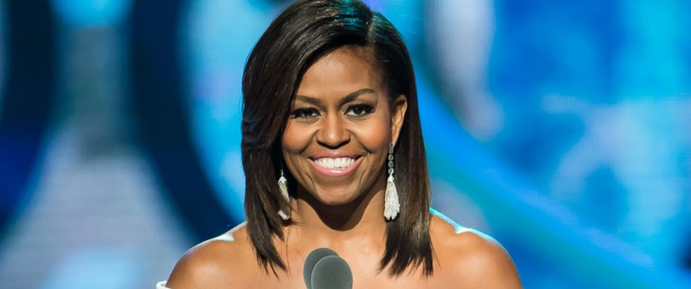 PHOTO: Michelle Obama speaks onstage during the Black Girls Rock! BET Special at NJ Performing Arts Center on March 28, 2015 in Newark, N.J.