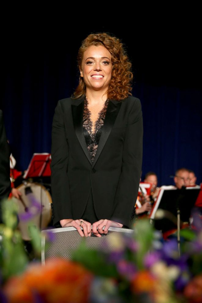 PHOTO: Host Michelle Wolf attends the 2018 White House Correspondents Dinner at Washington Hilton, April 28, 2018, in Washington, DC.