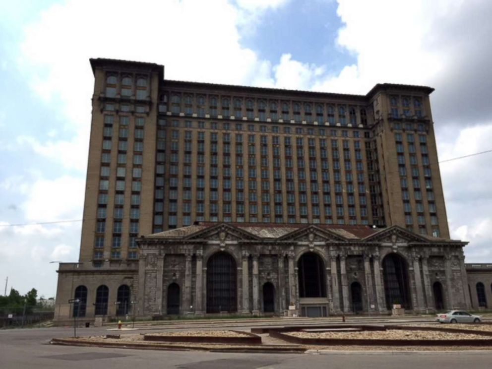 PHOTO: Michigan Central Station in Detroit, MI is pictured in August 2018. The Ford Motor Company purchased the building in May 2018 for redevelopment.