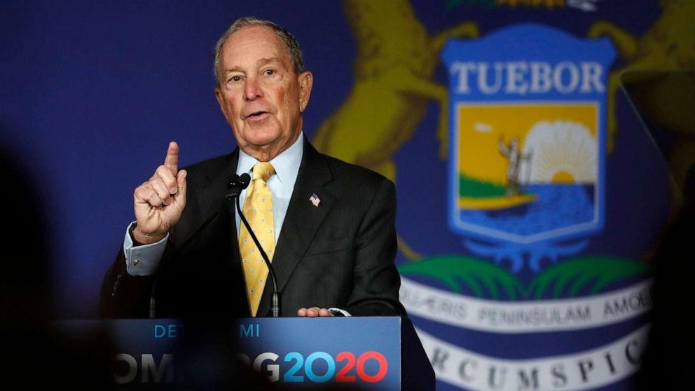 Ατού του πρώην Ναυτικού γραμματέας υποστηρίζει το Bloomberg