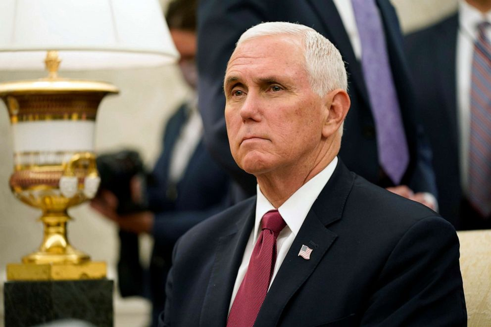 Pence says he's 'proud' of Trump's COVID-19 response, doesn't ...