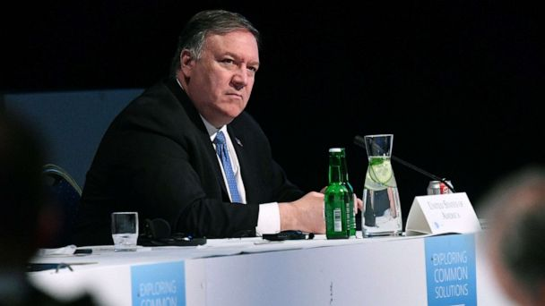 Pompeo cancels trip to Greenland for meetings on Iran, North Korea