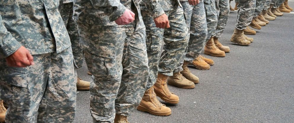 PHOTO: Military personnel are seen in this stock photo.