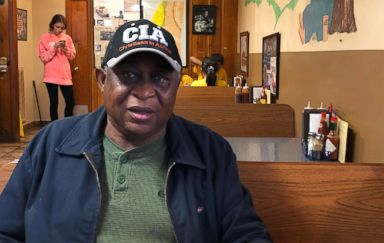 PHOTO: William Jones from the Mississippi Delta sits in a barbecue restaurant in Clarksdale, Miss., Oct. 26, 2018.