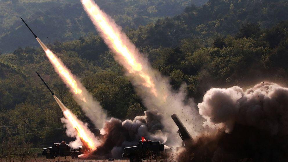 North Korea fires 2 short-range ballistic missiles: US officials thumbnail