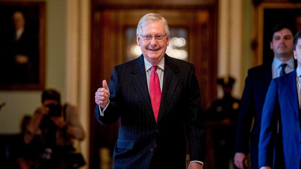 Senat genehmigt $2T parteiübergreifende Konjunkturpaket zu reagieren coronavirus