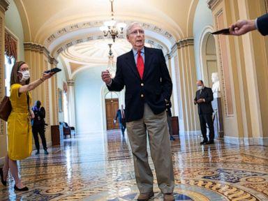 Senate Democrats block more money for small businesses demand funds for hospitals