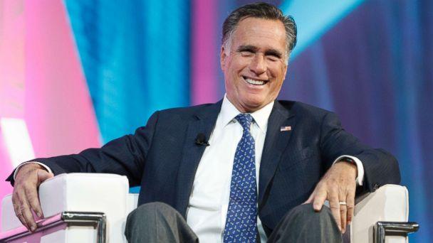 Mitt Romney: 'I am running for the United States Senate'