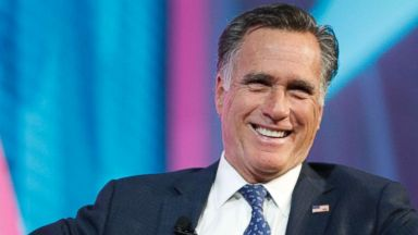 'PHOTO: Former Massachusetts Governor and Republican presidential candidate Mitt Romney is interviewed1_b@b_1the Silicon Slopes Tech Conference, Jan. 19, 2018, in Salt Lake City.' from the web at 'https://s.abcnews.com/images/Politics/mitt-romney-gty-mem-180216_16x9t_384.jpg'