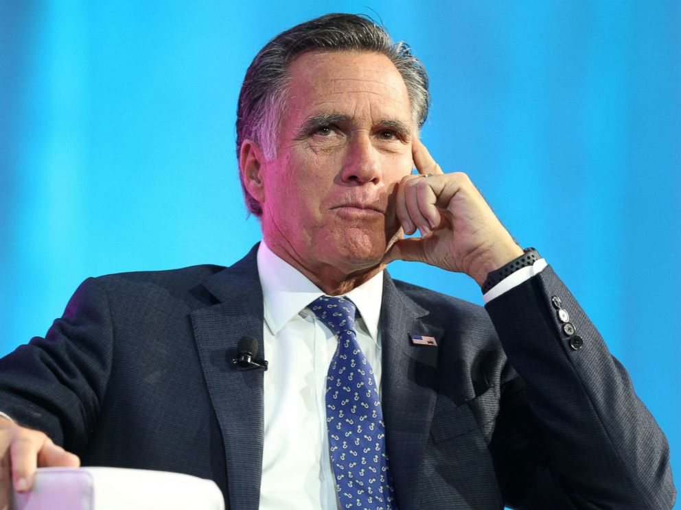 Mitt Romney announces US Senate Run