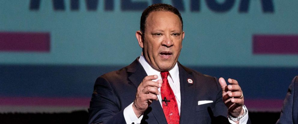 PHOTO: Marc Morial, President and CEO of the National Urban League, participates in a televised town hall at The Howard Theatre in Washington, D.C., May 8, 2018, on The State of Black America.