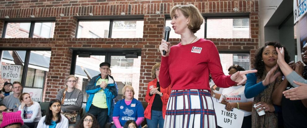 PHOTO: One of the seven democratic candidates for Congress in Texas, Laura Moser, is pictured in an undated photo.