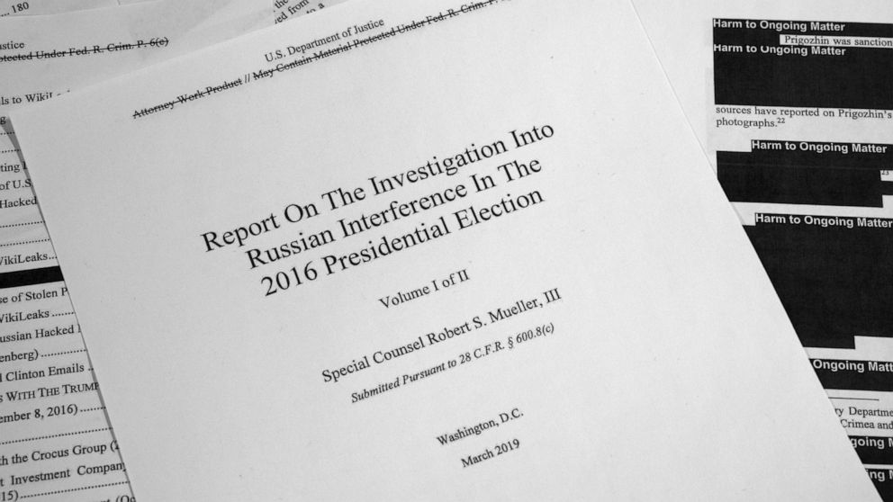 10 best footnotes of the Mueller report
