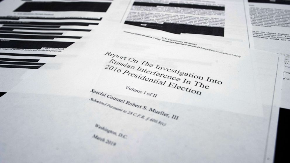 5 key takeaways from special counsel Robert Mueller's report - ABC News