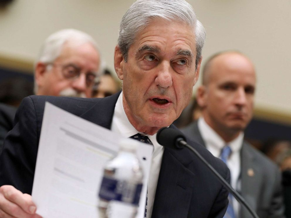 PHOTO: Former Special Counsel Robert Mueller testifies before the House Judiciary Committee about his report on Russian interference in the 2016 presidential election in the Rayburn House Office Building, July 24, 2019, in Washington, D.C.