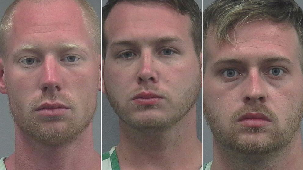 Tyler Tenbrink, 28, of Richmond, Texas, and 30 year old William Fears and 28 year old Colton Fears of Passadena, Texas.