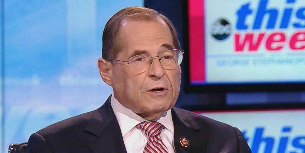 PHOTO: Rep. Jerry Nadler on This Week With George Stephanopoulos, July 28, 2019.