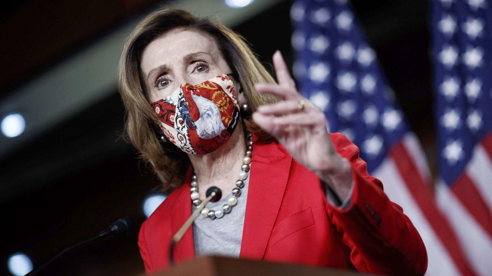 Pelosi wins tight race for House speaker - ABC News