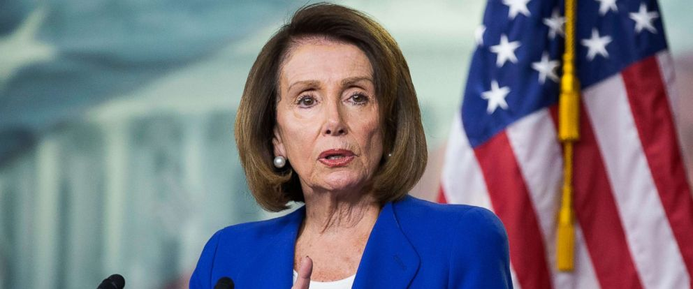 PHOTO: Speaker of the House Nancy Pelosi holds a news conference on Capitol Hill in Washington, DC, Jan. 31, 2019.