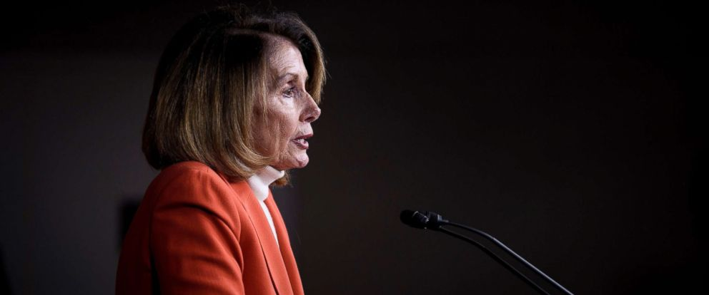 PHOTO: House Minority Leader Nancy Pelosi speaks to reporters during a briefing on Capitol Hill, Nov. 15, 2018, in Washington, DC.