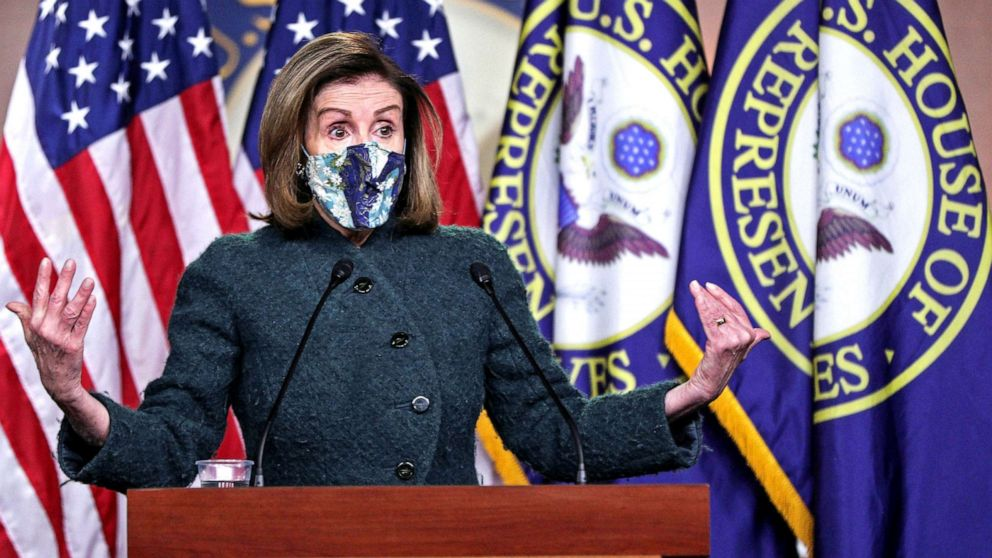 Pelosi Claims The Enemy Is Within The House Of Representatives Abc News