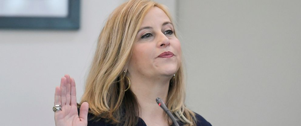 PHOTO: Nashville mayor Megan Barry pleads guilty to felony theft of property over $10,000 related to her affair with former police bodyguard Sgt. Rob Forrest in court at the Justice A. A. Birch Building, March 5, 2018, in Nashville, Tenn.