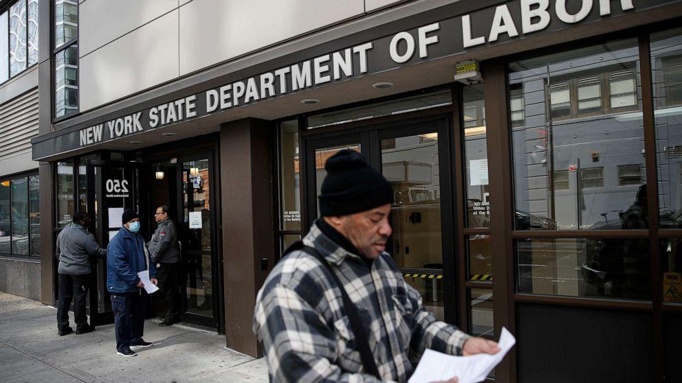 Da die Arbeitslosigkeit Ansprüche siehe die Aufzeichnung hoch, höre von betroffenen