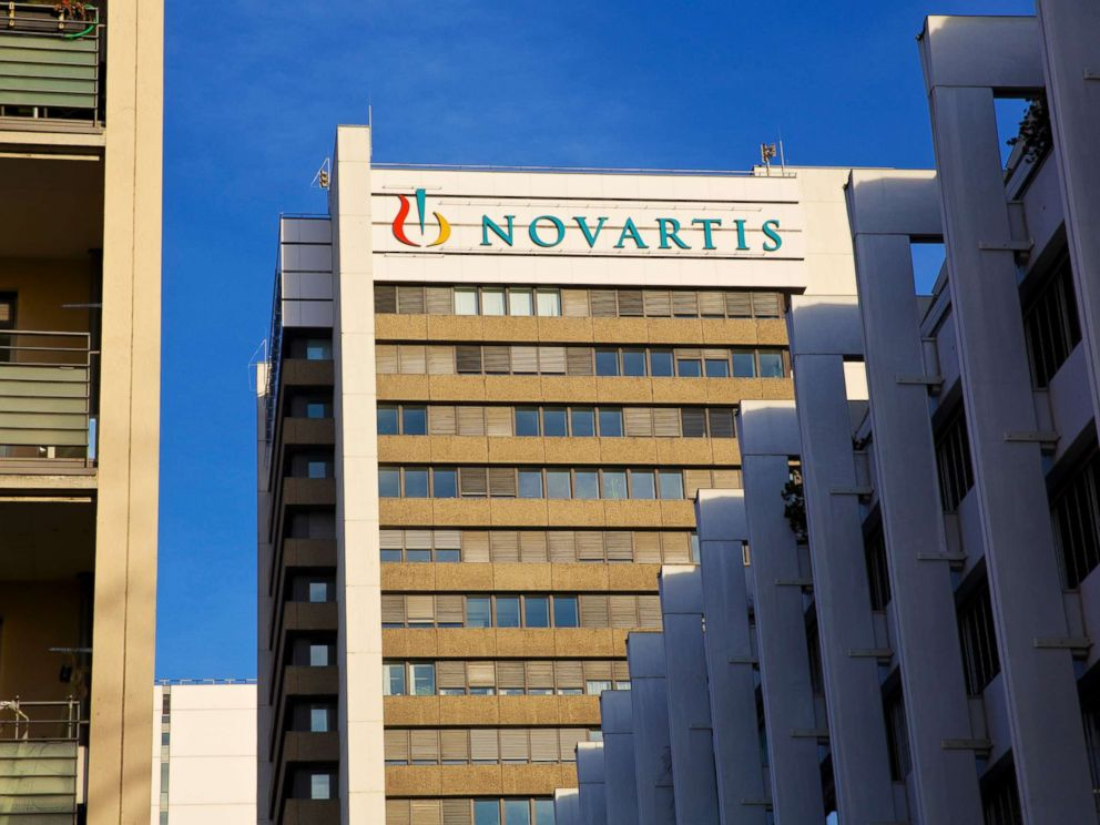 PHOTO: The headquarters of Novartis AG is pictured in Basel, Switzerland, Jan. 29, 2014.