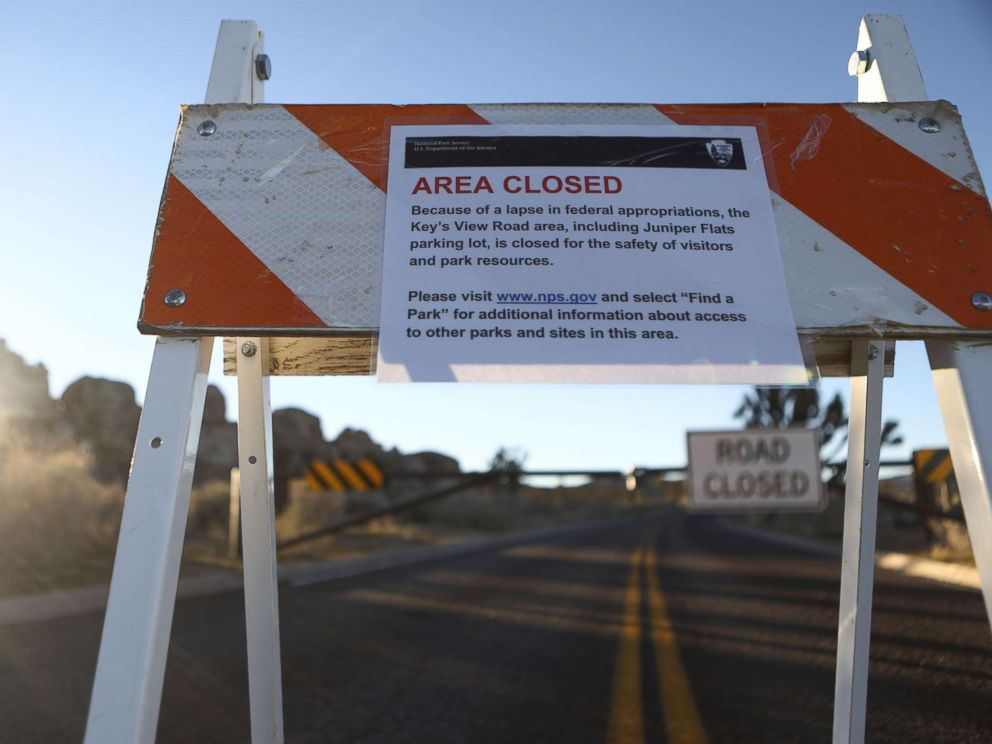 Park Service dipping into entrance fees amid shutdown