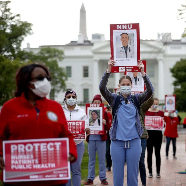Federal Records Show Thousands Of Desperate Pleas From Health Care Workers Seeking Better Covid Protective Gear Abc News Despairing, hopeless (a sense now obsolete), from latin desperatus given up, despaired of, past… showing extreme courage; how high will the covid 19 death toll rise