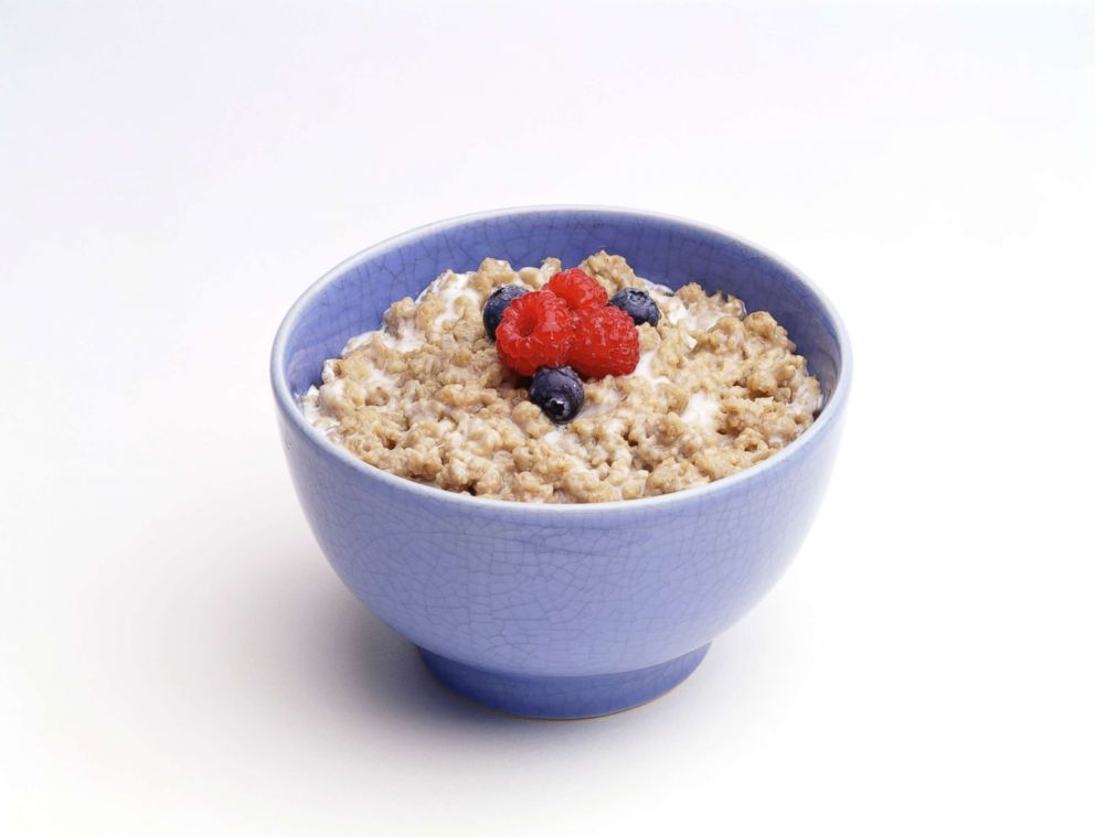PHOTO: A bowl of oatmeal is pictured in this undated stock photo.
